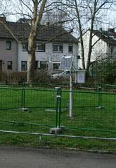 Bild einer Messstation des DWD in Köln