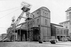 Ehemalige Zeche und Kokerei im Ruhrgebiet