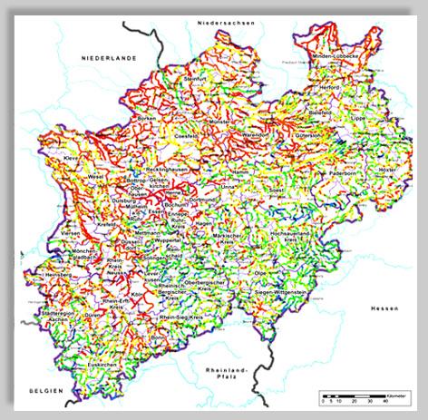 LANUV: Gewässerstruktur in NRW