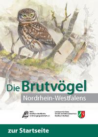 Titelseite der Druckversion des NRW-Brutvogelatlas