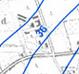 Ausschnitt aus einer Grundwassergleichenkarte