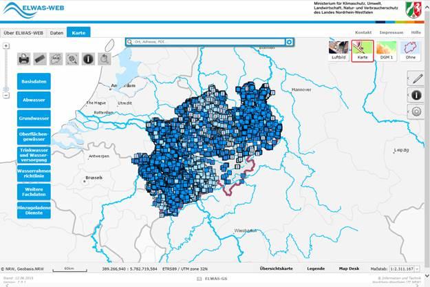 grundwasserstand karte nrw LANUV: Grundwasserdaten Online