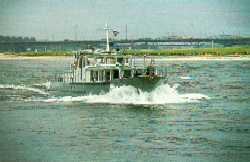 Bild: Laborschiff MAX PRÜSS im Einsatz