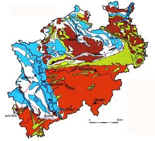 grundwasserstand karte nrw LANUV: Grundwasserleiter