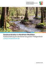 Gewässerstruktur in Nordrhein-Westfalen Kartieranleitung für die kleinen bis großen Fließgewässer